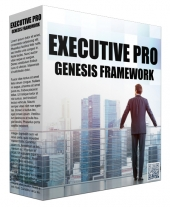 Executive Pro Genesis FrameWork Template with Personal Use Rights/Developers Rights