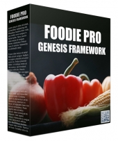 Foodie Pro Genesis FrameWork Template with Personal Use Rights/Developers Rights