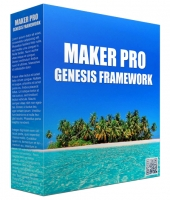 Maker Pro Genesis FrameWork Template with Personal Use Rights/Developers Rights