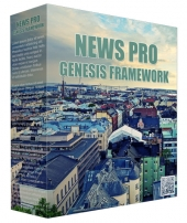 News Pro Genesis FrameWork Template with Personal Use Rights/Developers Rights