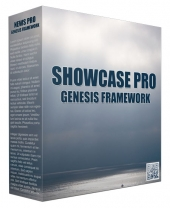 Showcase Pro Genesis FrameWork Template with Personal Use Rights/Developers Rights