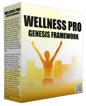 Wellness Pro Genesis FrameWork Template with Personal Use Rights/Developers Rights
