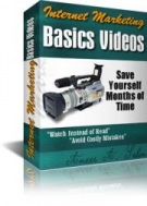 Internet Marketing Basics Videos eBook with Personal Use Rights