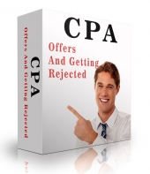 CPA Offers And Getting Rejected eBook with Private Label Rights