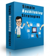 Simple Backlinking Strategies eBook with Private Label Rights