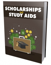 Scholarships and Study Aids eBook with Master Resell Rights/Giveaway Rights