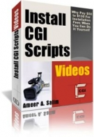 Install CGI Scripts Videos Report eBook with Personal Use Rights