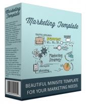 Marketing Minisite Template V111016 eBook with Private Label Rights