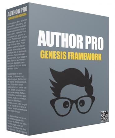 Author Pro Genesis FrameWork
