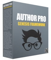 Author Pro Genesis FrameWork Template with Personal Use Rights/Developers Rights