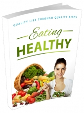 Eating Healthy eBook with Master Resell Rights