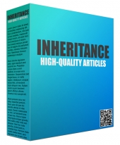 10 Inheritance Articles eBook with Private Label Rights