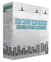 The Most Important Aspects Of Blog Marketing Audio with Private Label Rights