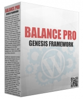 Balance Genesis FrameWork Template with Personal Use Rights/Developers Rights