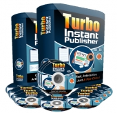 Turbo Instant Publisher Software with Personal Use Rights