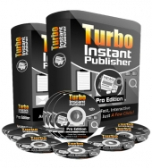 Turbo Instant Publisher Pro Software with Personal Use Rights