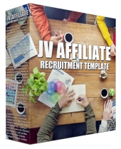JV Affiliate Recruitment Template Guide eBook with Personal Use Rights