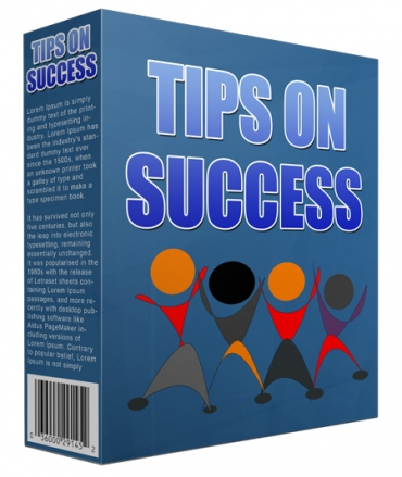 Tips On Success