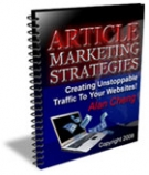 Article Marketing Strategies eBook with Giveaway Rights