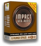 Impact Web Audio Software with Master Resale Rights