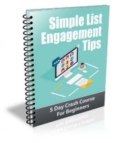 Simple List Engagement Tips Gold Article with Private Label Rights