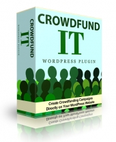 Crowdfund It Premium WordPress Plugin Software with Personal Use Rights