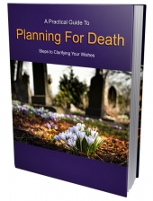 Planning for Death eBook with Private Label Rights