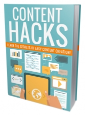 Content Hacks eBook with Personal Use Rights