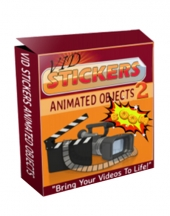 Vid Stickers Review Pack Video with Private Label Rights