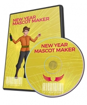 New Year Mascot Maker Graphic with Personal Use Rights