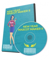 New Year Mascot Maker II Graphic with Personal Use Rights