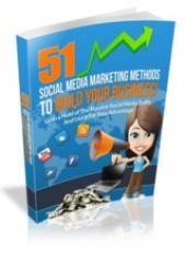 51 Social Media Marketing Methods eBook with Master Resell Rights