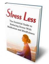 Stress Less eBook with private label rights