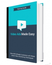 Video Ads Made Easy eBook with Personal Use Rights