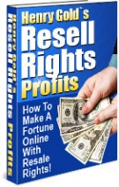 Resell Rights Profits eBook with Resell Rights