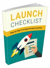 Launch Checklist eBook with private label rights