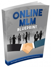 Online MLM Blueprint eBook with private label rights