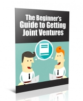 Guide to Getting Joint Ventures eBook with Private Label Rights