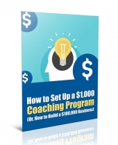 Set Up a Coaching Program eBook with Private Label Rights