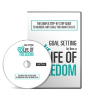 Goal Setting To Live A Life Of Freedom Gold Video with Master Resell Rights