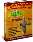 Build A Profit Pulling Ezine In 1/2 The Time eBook with Resell Rights