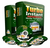 Turbo Instant Niche Templates Software with Personal Use Rights
