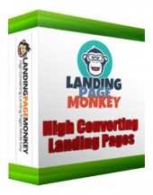 Landing Page Monkey Review Pack Video with private label rights