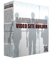 Career Planning Video Site Builder Software with Master Resell Rights/Giveaway Rights