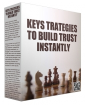 Key Strategies To Build Trust Instantly Audio with Private Label Rights/Giveaway Rights