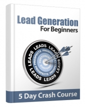 Lead Generation For Beginners Gold Article with Private Label Rights