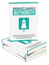 Product Launch Authority eBook with Master Resell Rights