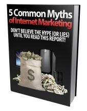 Make Money Online Myths eBook with Personal Use Rights