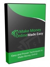 Make Money Online Made Easy Video Upgrade Video with private label rights