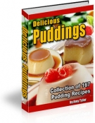 Delicious Puddings eBook with Master Resale Rights